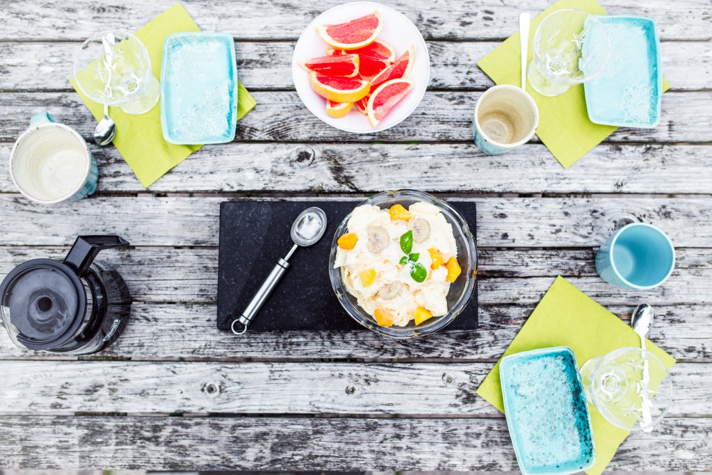 Kokos och mangoglass FAT-
